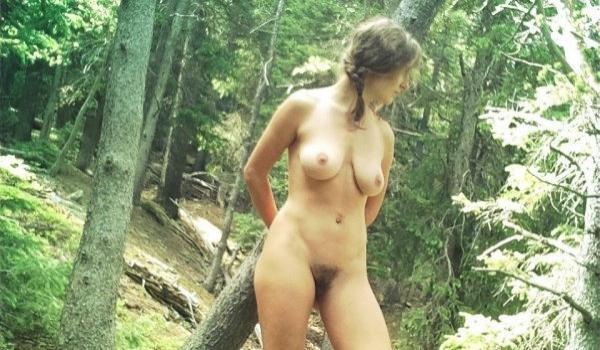 Amadoras gostosas peladas na natureza